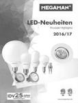MEGAMAN LED Neuheiten 2016 2017