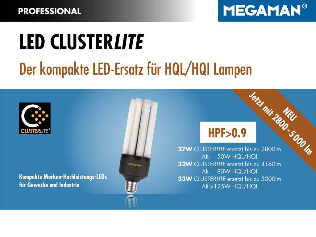 MEGAMAN LED Clusterlite